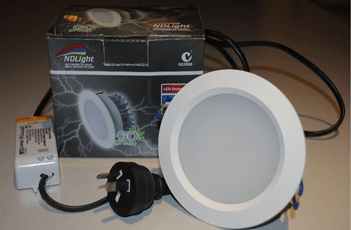 LED 12w DOWNLIGHT – DIMMABLE