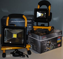 LED WORKLIGHTS - RECHARGEABLE