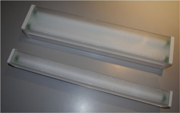 WIDE BODY DIFFUSED BATTENS ELECTRONIC